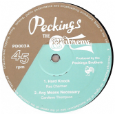 SALE ITEM - Ras Charmer - Hard Knock / Carolene Thompson - Any Means Necessary (Peckings) UK 12""